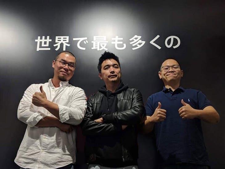 左起為林思吾、李振瑋、林國銘